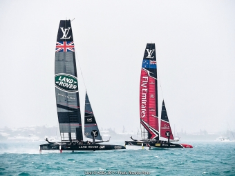 Bermuda (BDA) - 35th America's Cup 2017 - Louis Vuitton America's Cup Challenger Playoffs Semi-Finals, Day 3 - © ACEA 2017 / Photo Ricardo Pinto